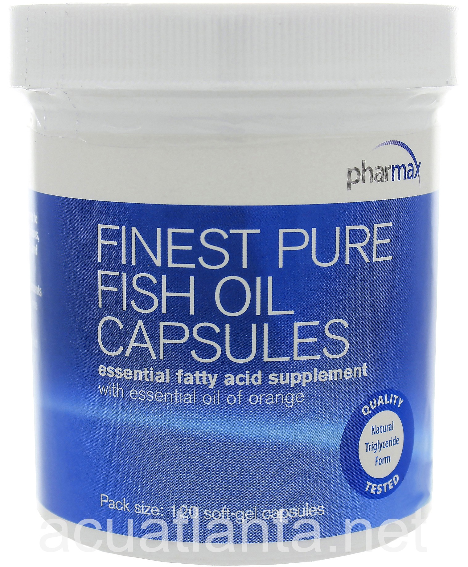 Finest pure fish oil capsules by pharmax finest pure fish for What are fish oil pills good for