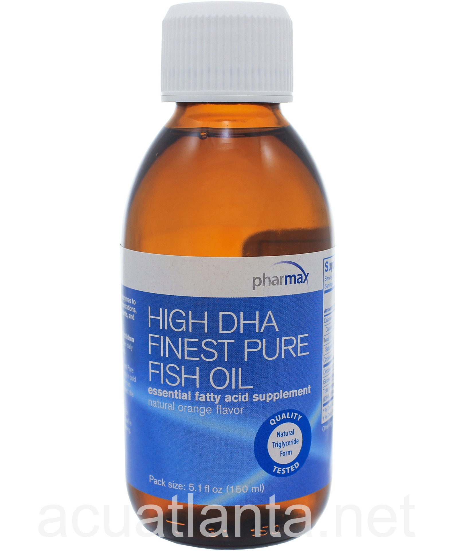High dha finest pure fish oil by pharmax high dha finest for High dha fish oil