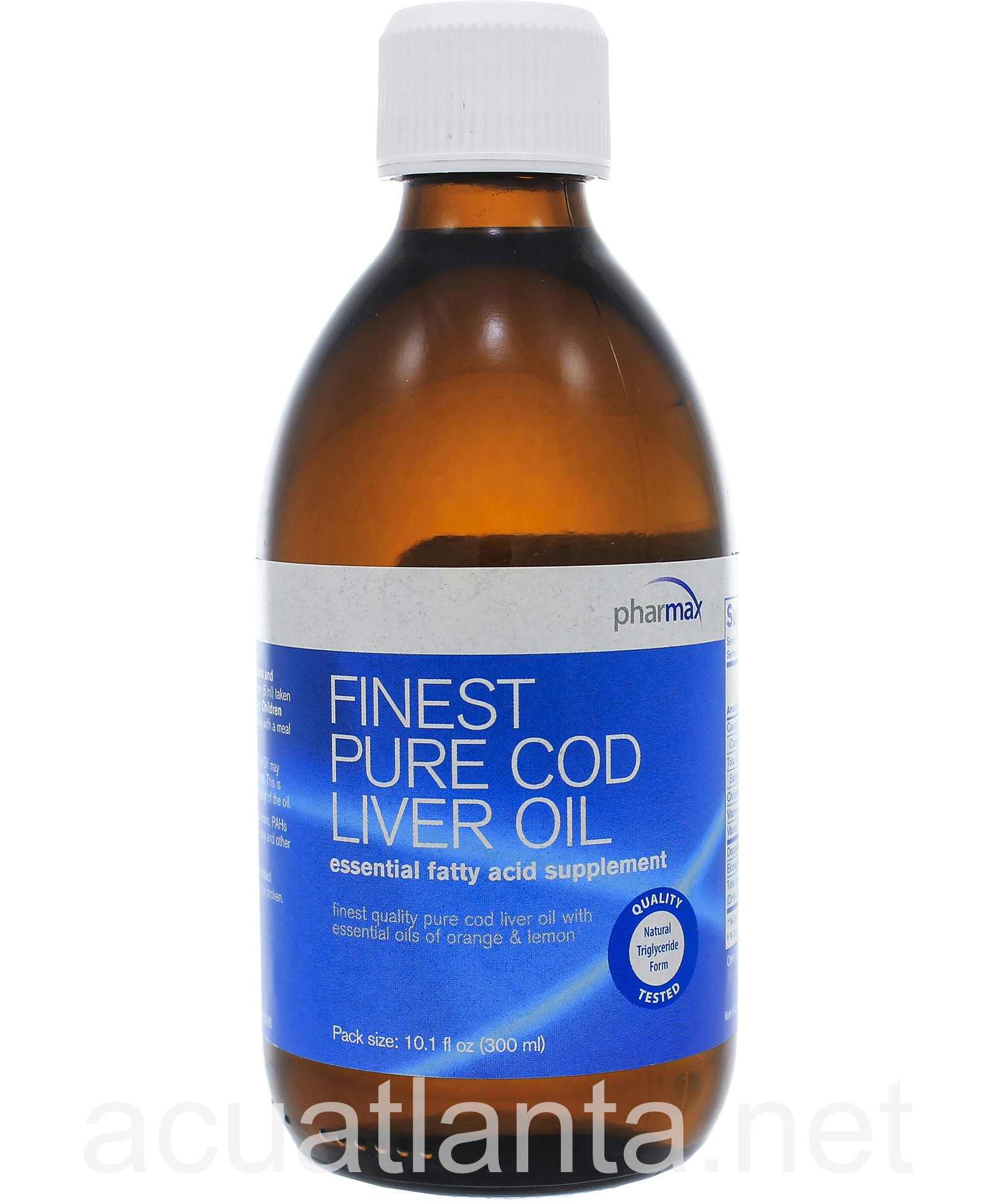 Finest pure cod liver oil by pharmax finest pure cod for Pharmax fish oil