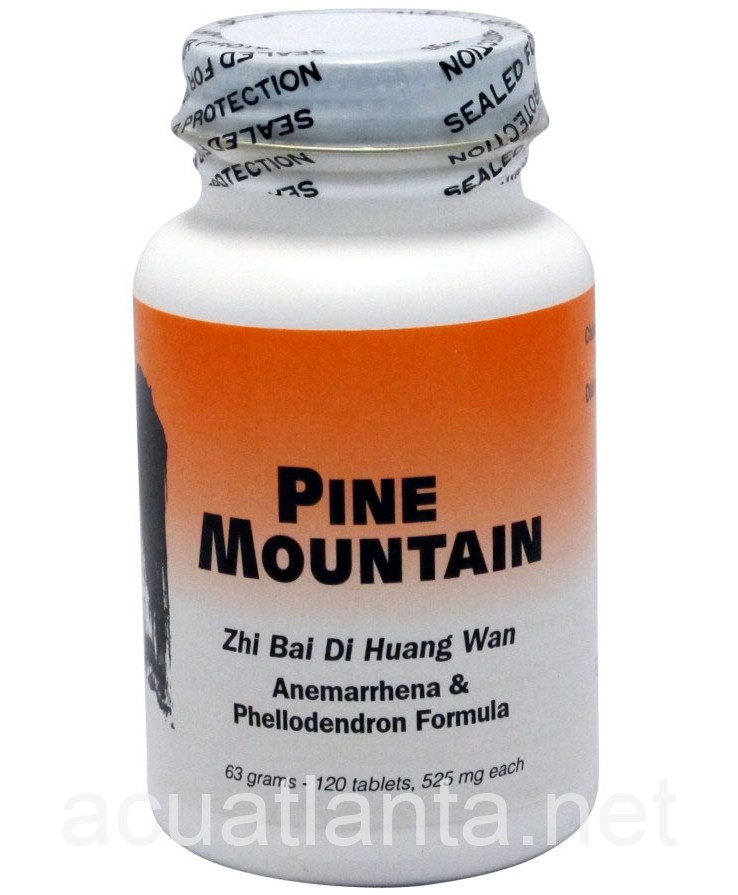 Zhi Bai Di Huang Wan 120 count by Pine Mountain On Sale In ...