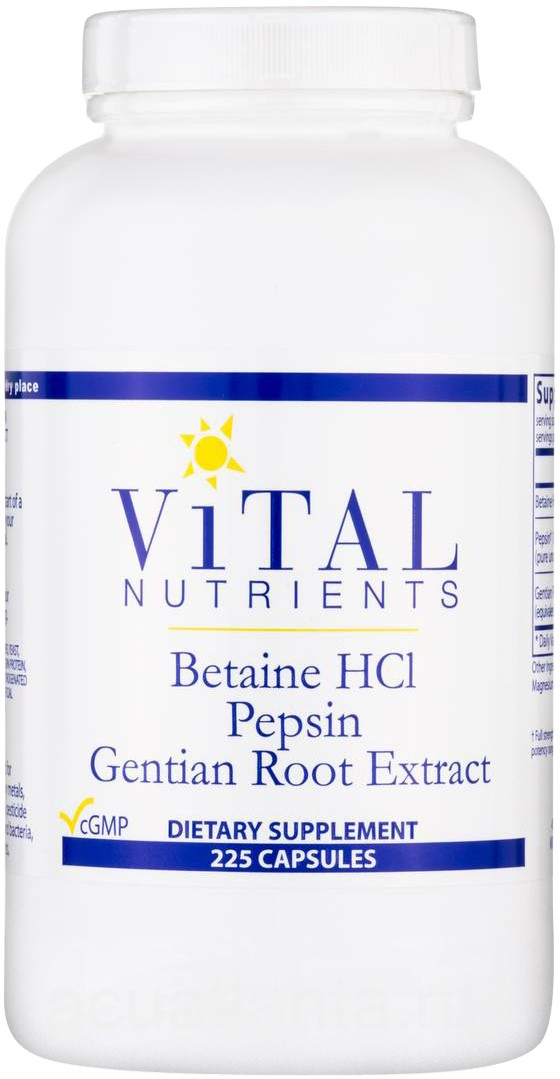 how to take betaine hcl with pepsin
