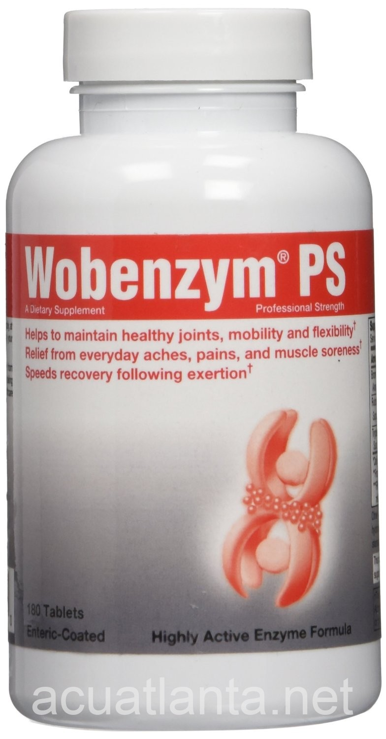 Wobenzym Ps 180 Count By Douglas Labs Free Shipping On