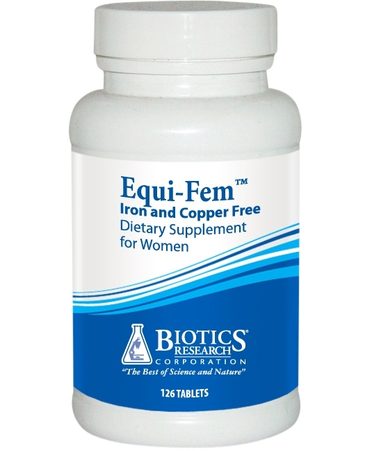 Equi-Fem Iron & Copper Free 126 tablets
