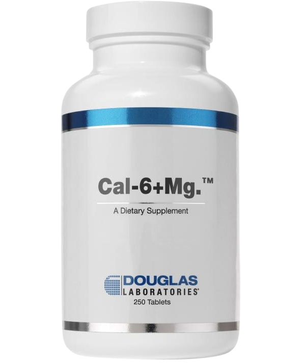 CAL 6 + MG 250 count
