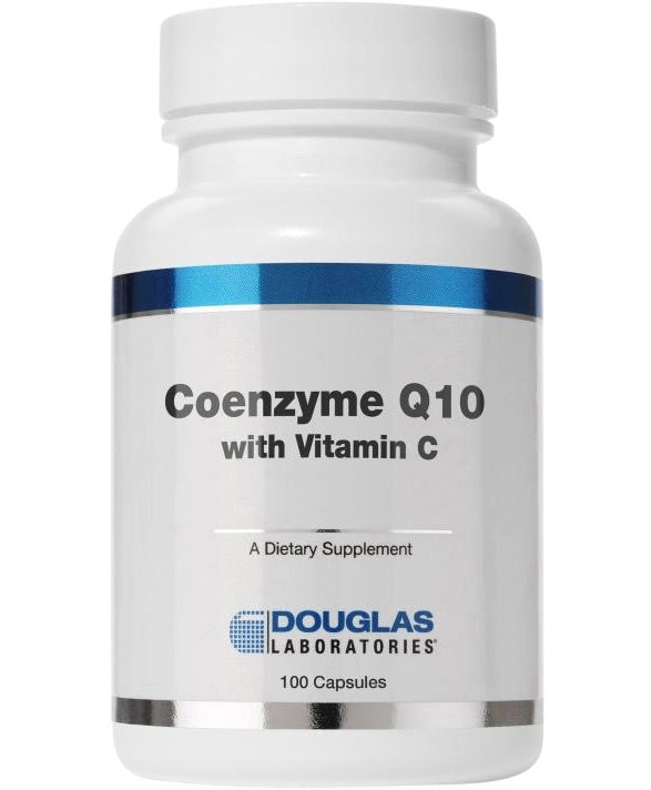 CoQ10 50mg with Vitamin C 100 capsules