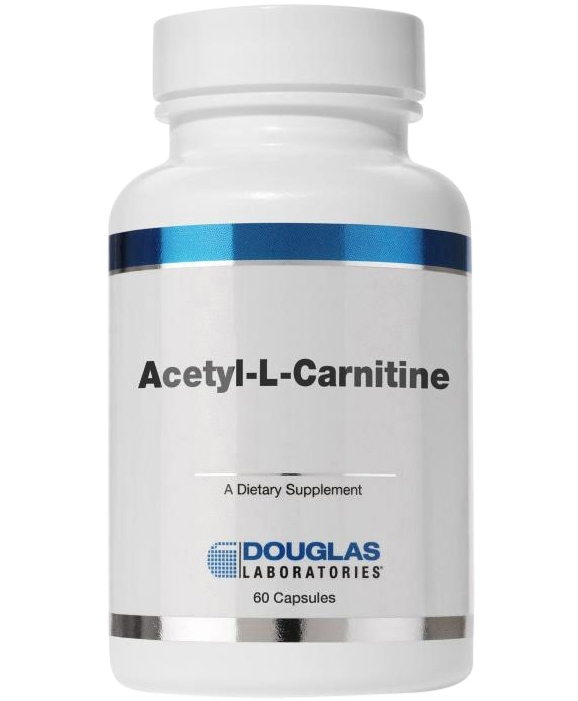 Acetyl L Carnitine 60 capsules 500 milligrams