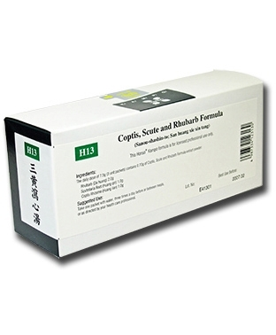 Coptis, Scute and Rhubarb Formula 42 packets (H13)