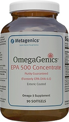 OmegaGenics EPA 500 Concentrate 90 gelcaps