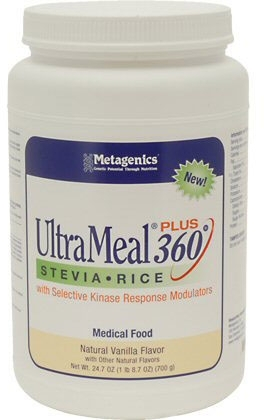 UltraMeal Plus 360 Rice with Stevia Medical Food 700 grams Vanilla