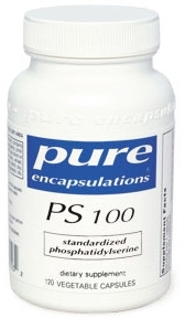 PS 100 120 soft capsules 100 milligrams