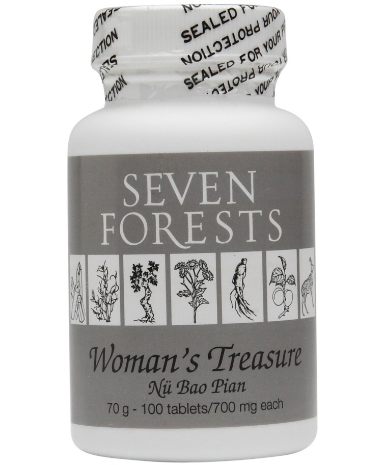 Womans Treasure 100 count