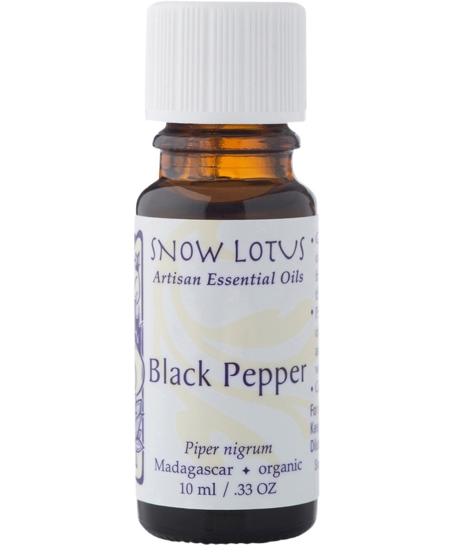 Black Pepper Essential Oil 10 milliliters