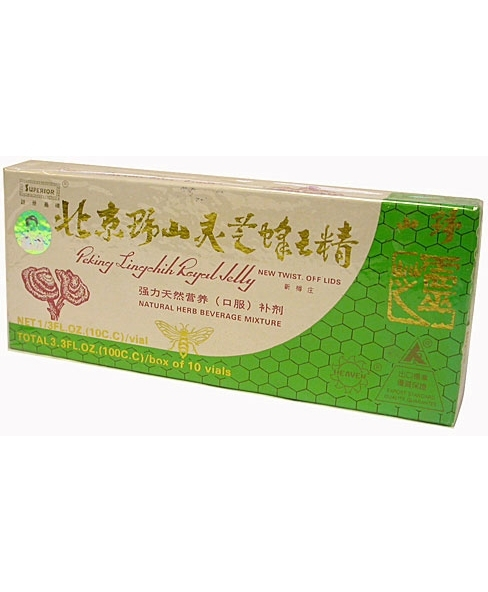 Peking Lingchih Royal Jelly 10 vials 10 cc