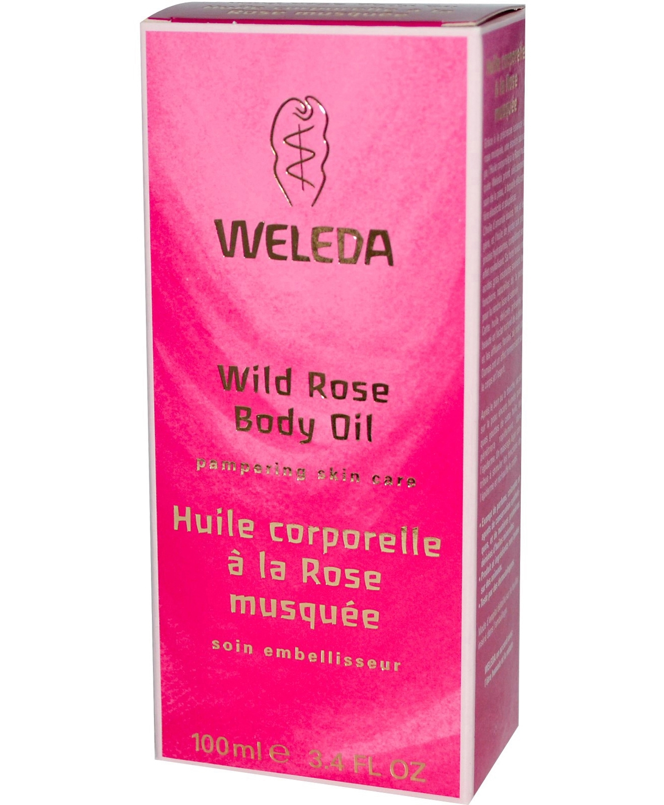 Wild Rose Body Oil 3.4 oz