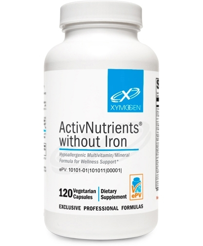 ActivNutrients without Iron 120 capsules