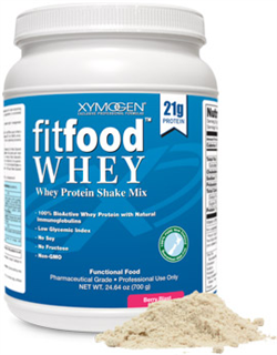Fit Food Whey 14 servings 1 can Berry